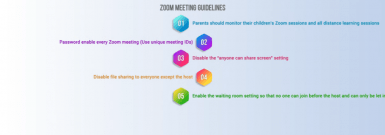 1:11 / 1:37 Guidance for Protecting Against Zoombombing in Zoom Meetings