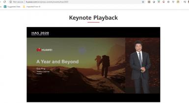 Huaweu Keynote