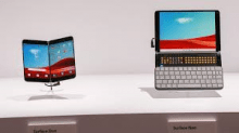Microsoft Surface Duo Smartphone and Surface