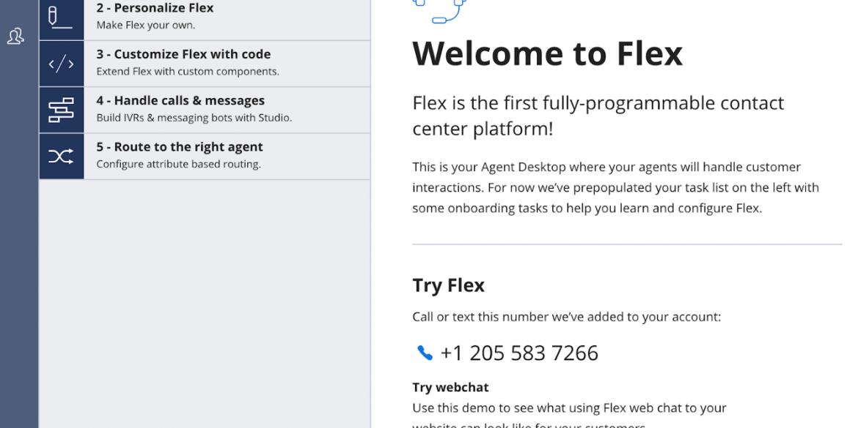 Twilio Flex 2019