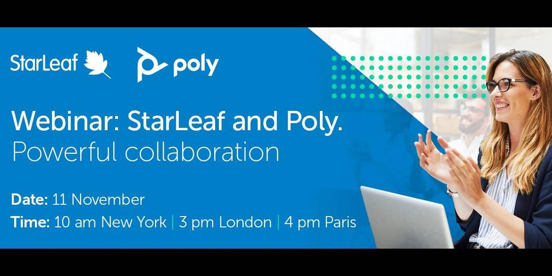 Webinar: StarLeaf & Poly